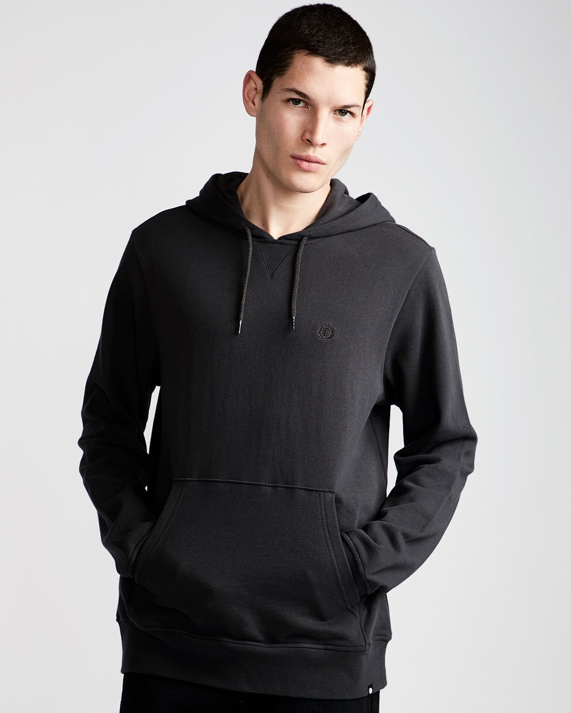 1 Layer Hoodie Black M606TECF Element