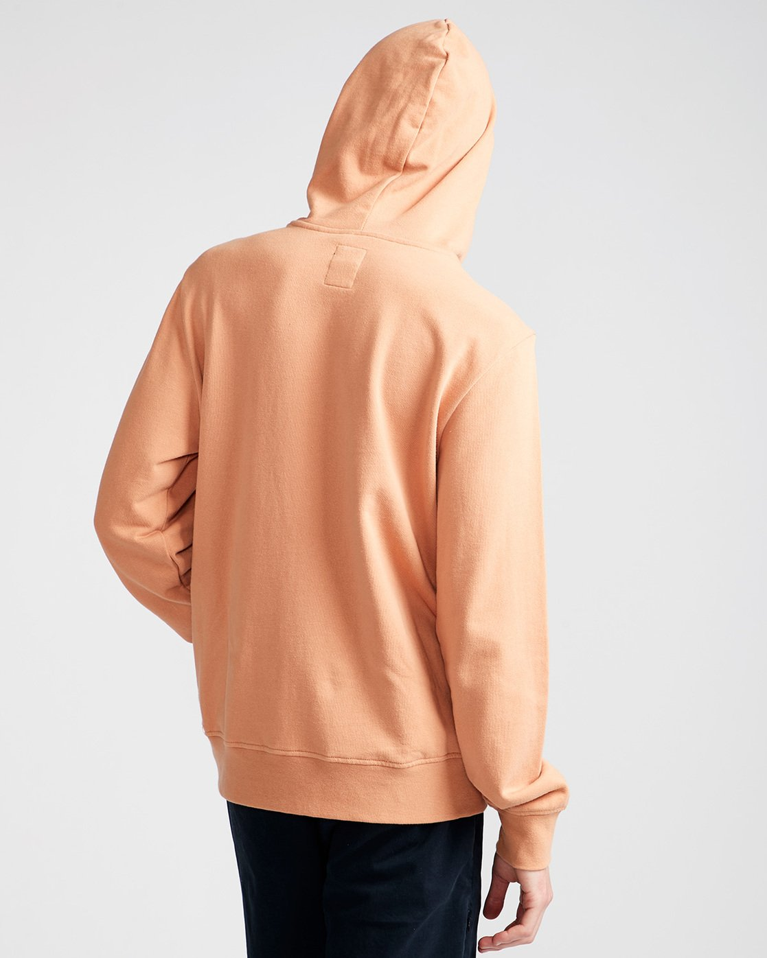 3 Cornell French Terry Pullover Hoodie Brown M606TECF Element