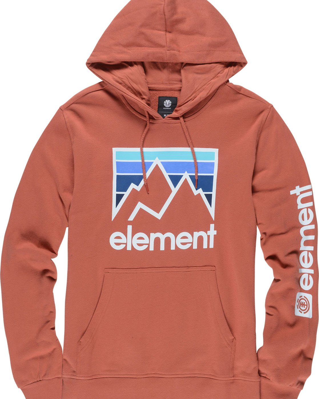 4 Joint Hoodie Red M614TEJH Element