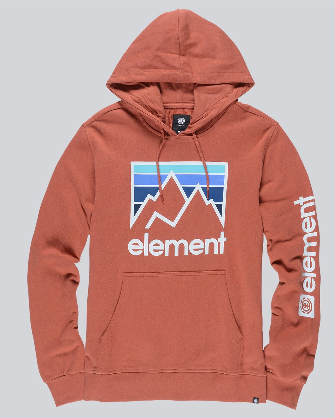 0 Joint Hoodie Red M614TEJH Element