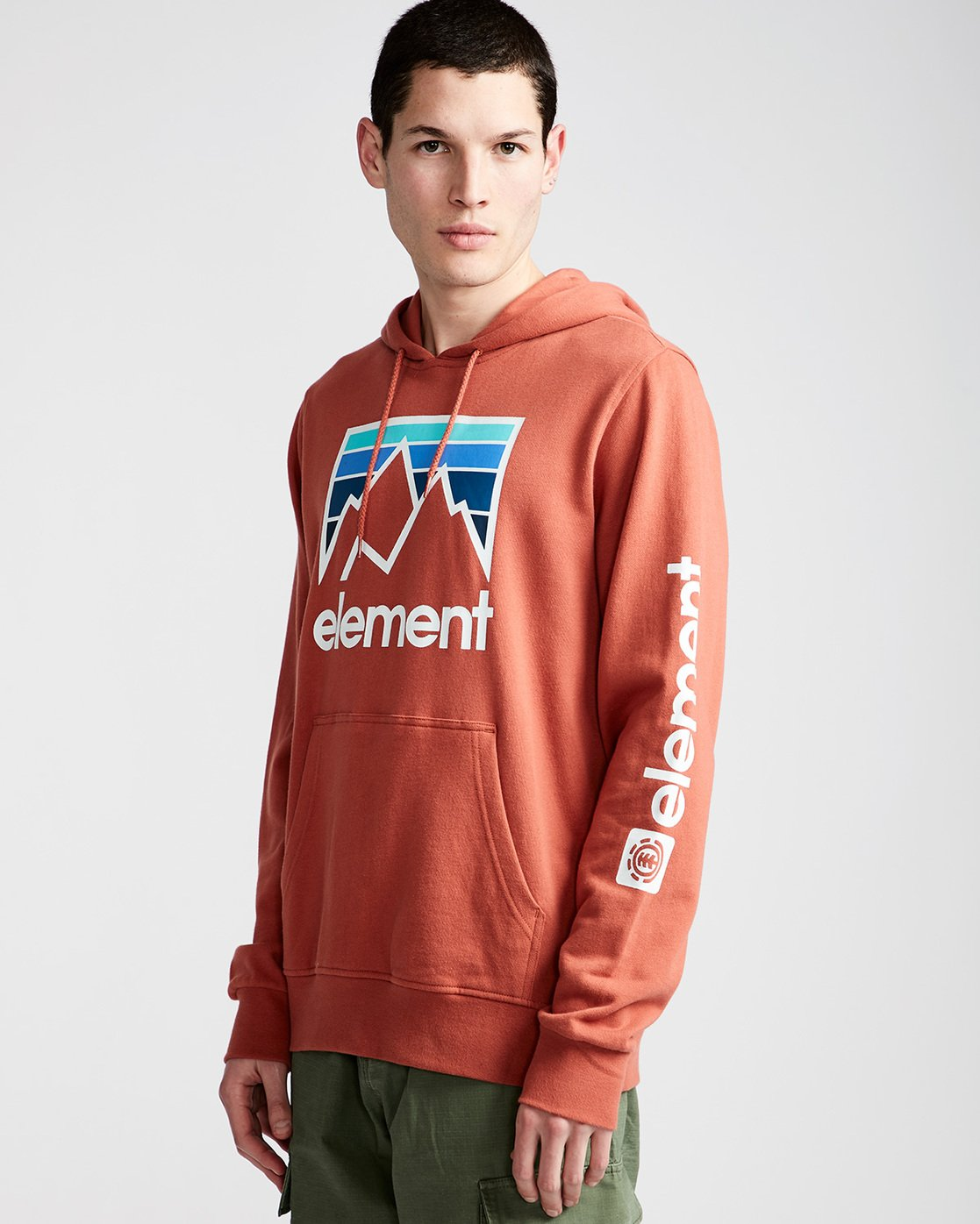 1 Joint Hoodie Red M614TEJH Element