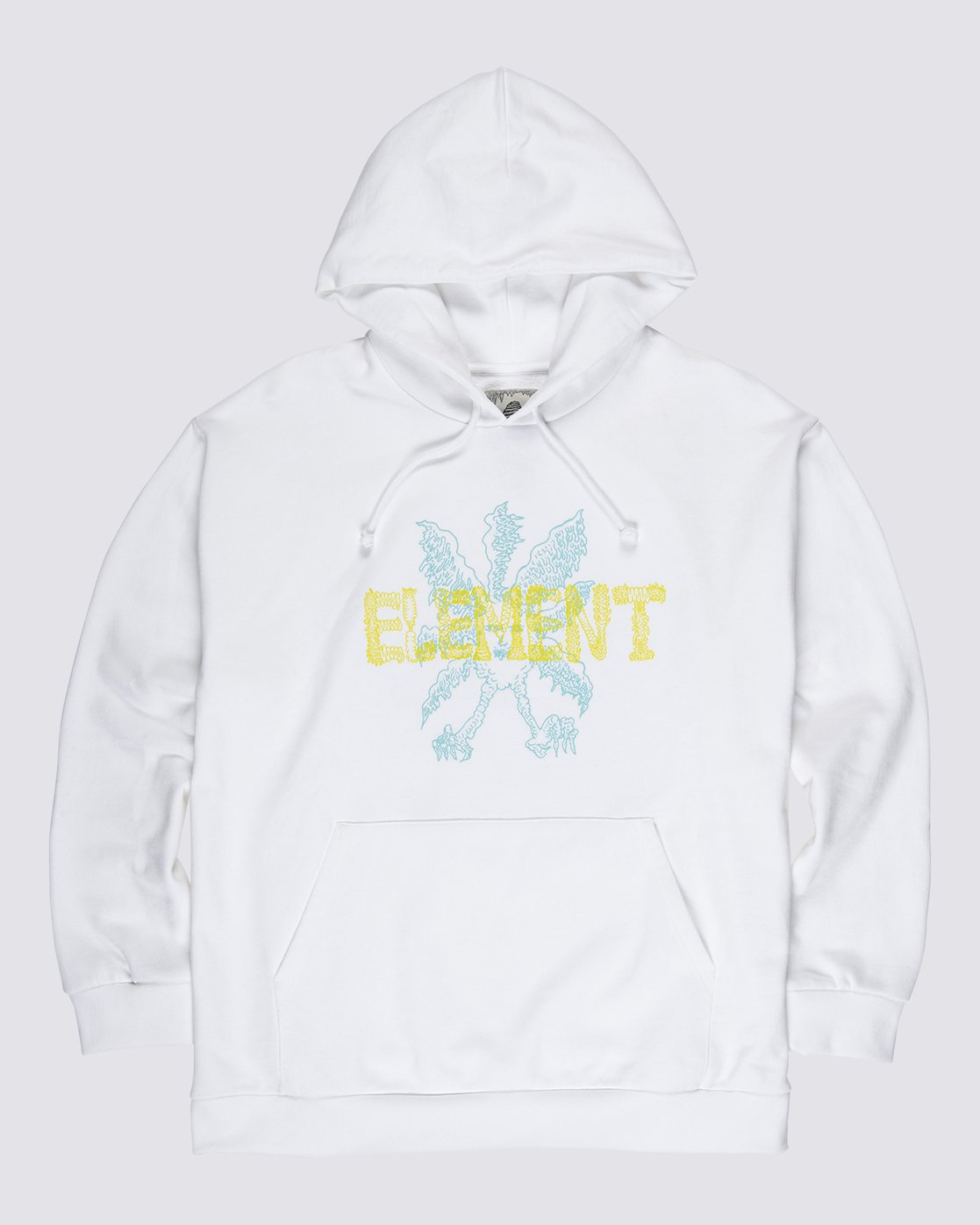 0 Space Typhoon Pullover Hoodie White M6172ESP Element