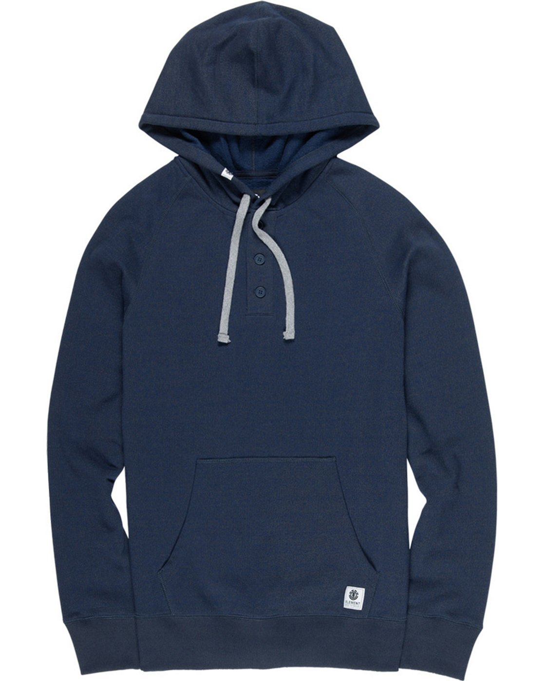 1 Horizontal Henley Hoodie Purple M635VEHH Element