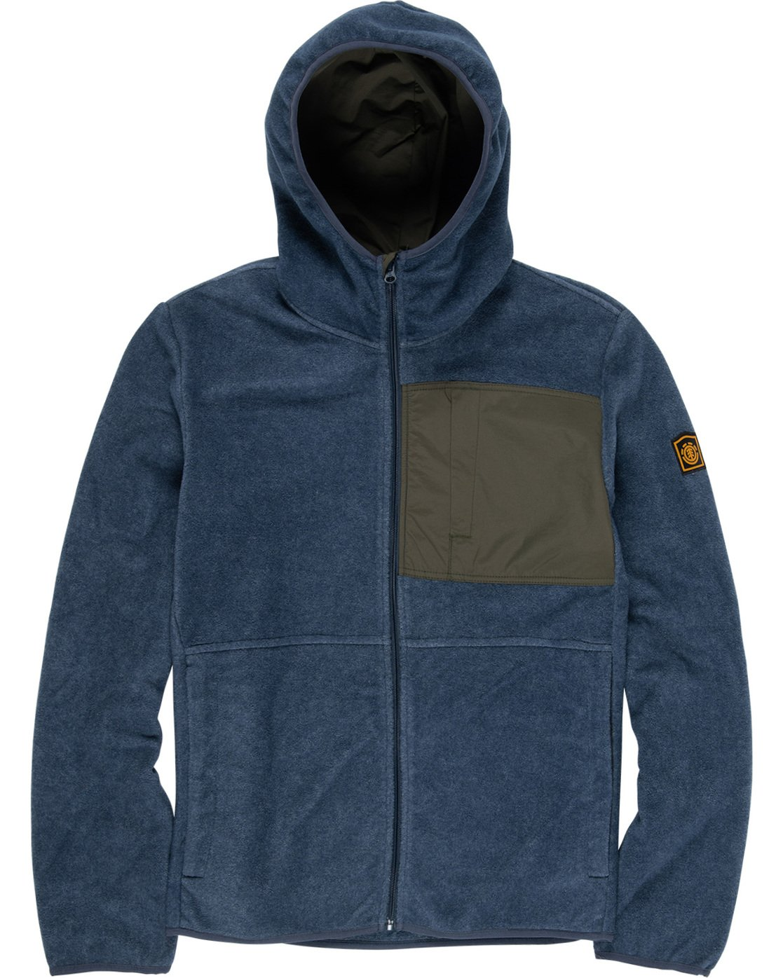 1 Windrift Zip-Up Hoodie Blue M640VEWI Element
