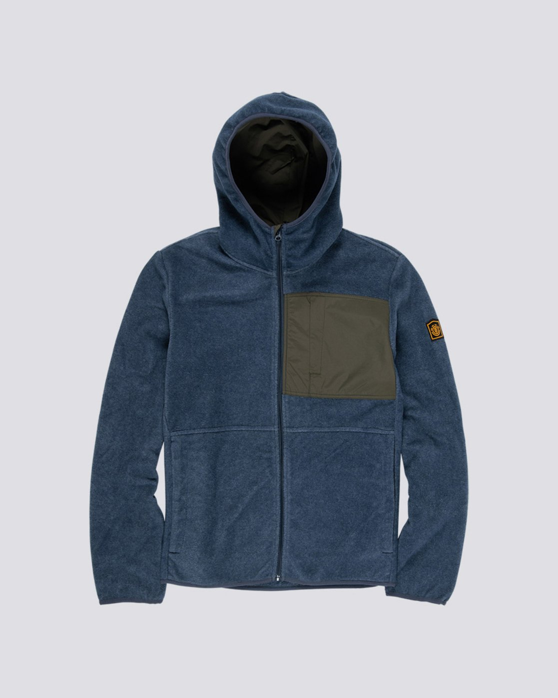 0 Windrift Zip-Up Hoodie Blue M640VEWI Element