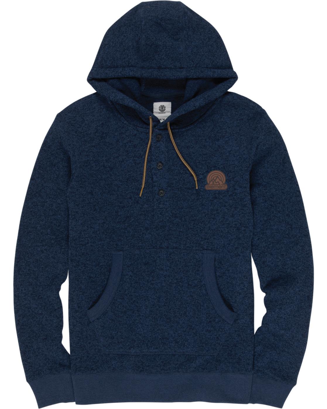 1 Highland Henley Shirt Blue M641VEHI Element