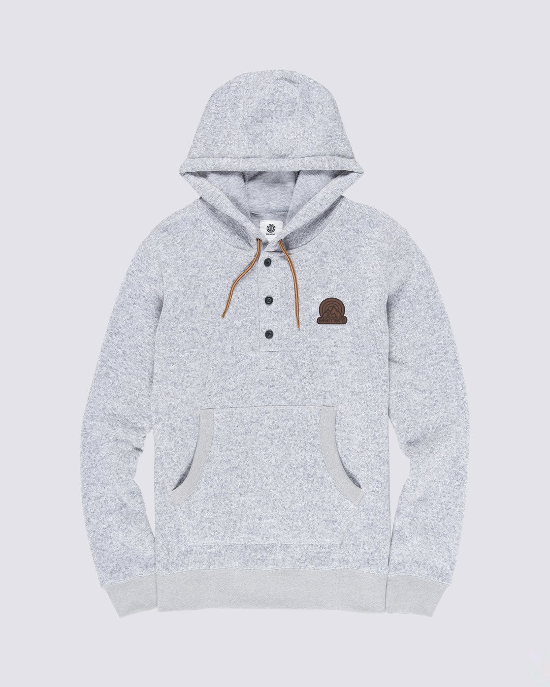 0 Highland Henley Shirt Grey M641VEHI Element