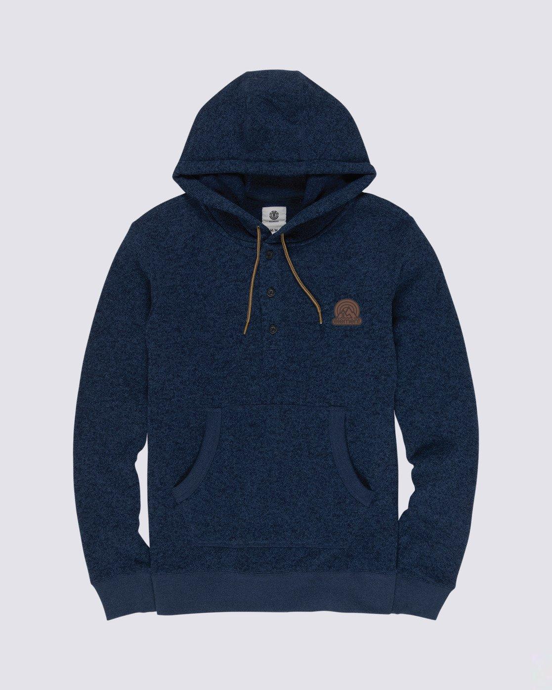 0 Highland Henley Shirt Blue M641VEHI Element