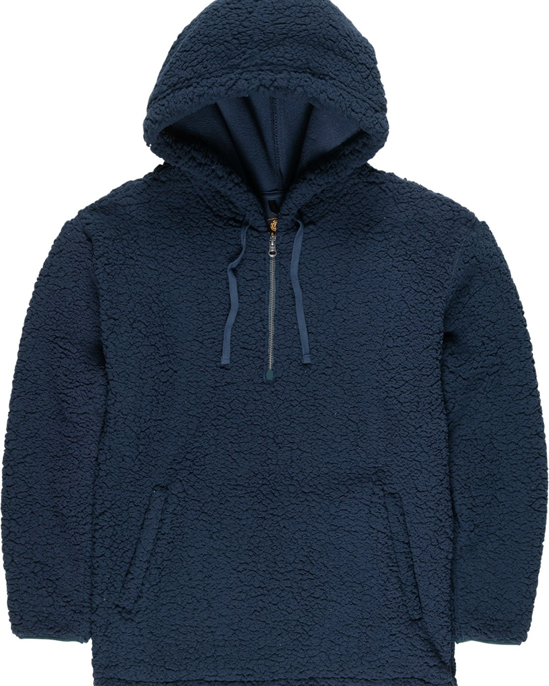 4 Big Shearling Hoodie Blue M642WEBS Element