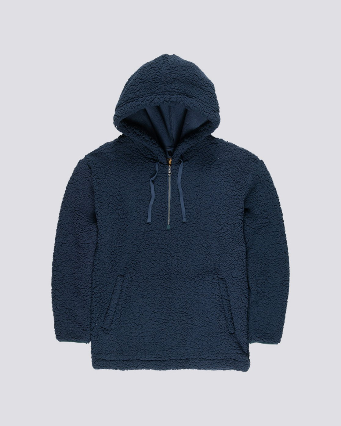 0 Big Shearling Hoodie Blue M642WEBS Element