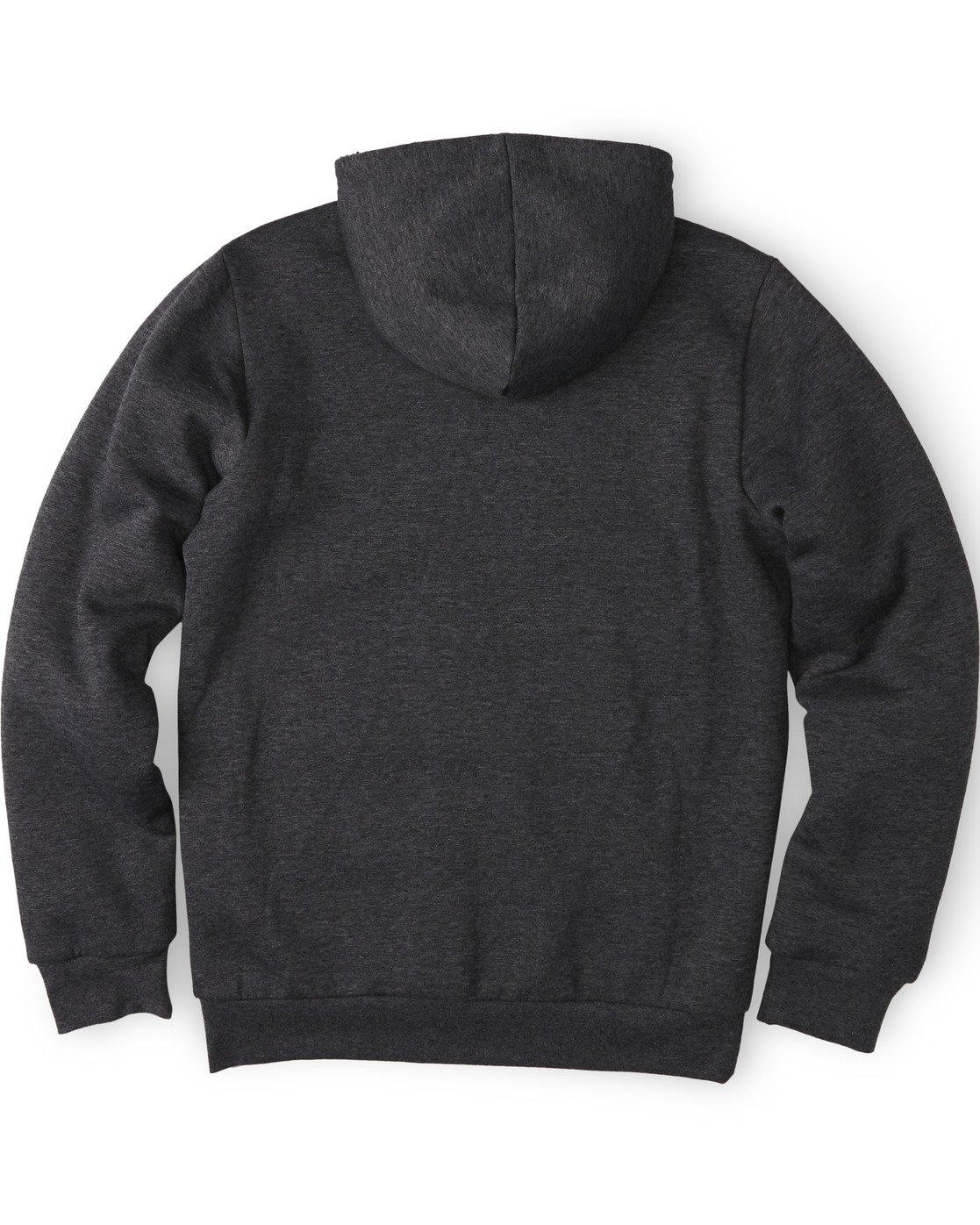 1 Bolton Zip-Up Hoodie Grey M6464EBO Element