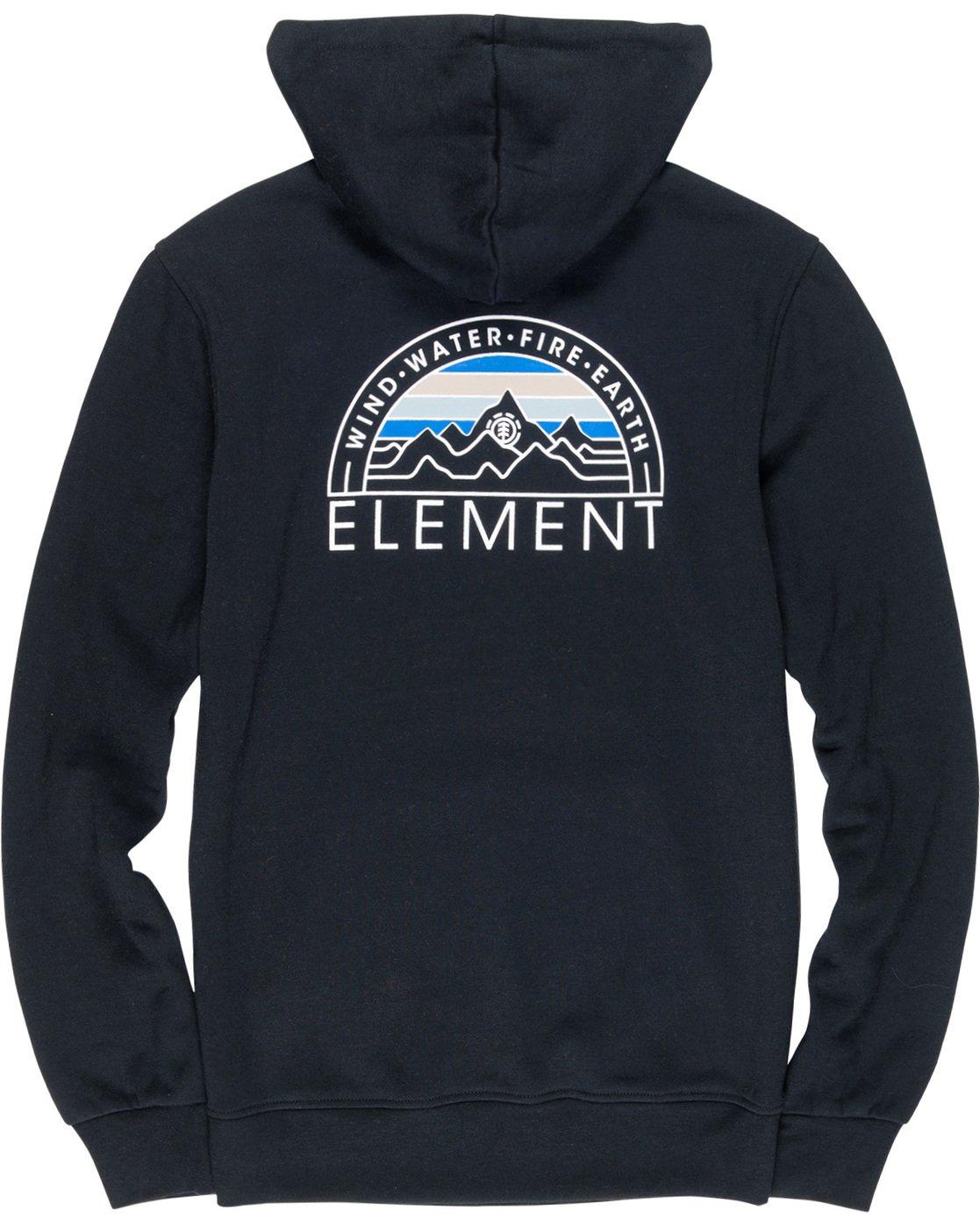 6 Odyssey Hoodie Black M653VEOD Element
