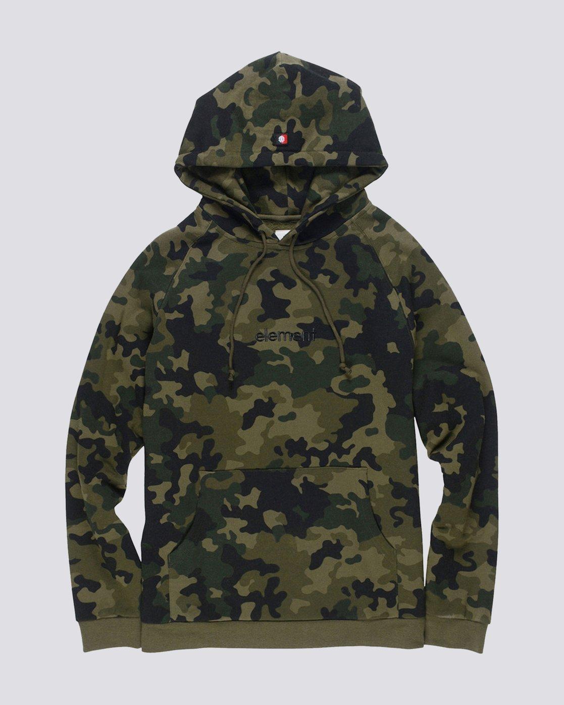 0 Big Hood Pullover Hoodie  M657QEBH Element