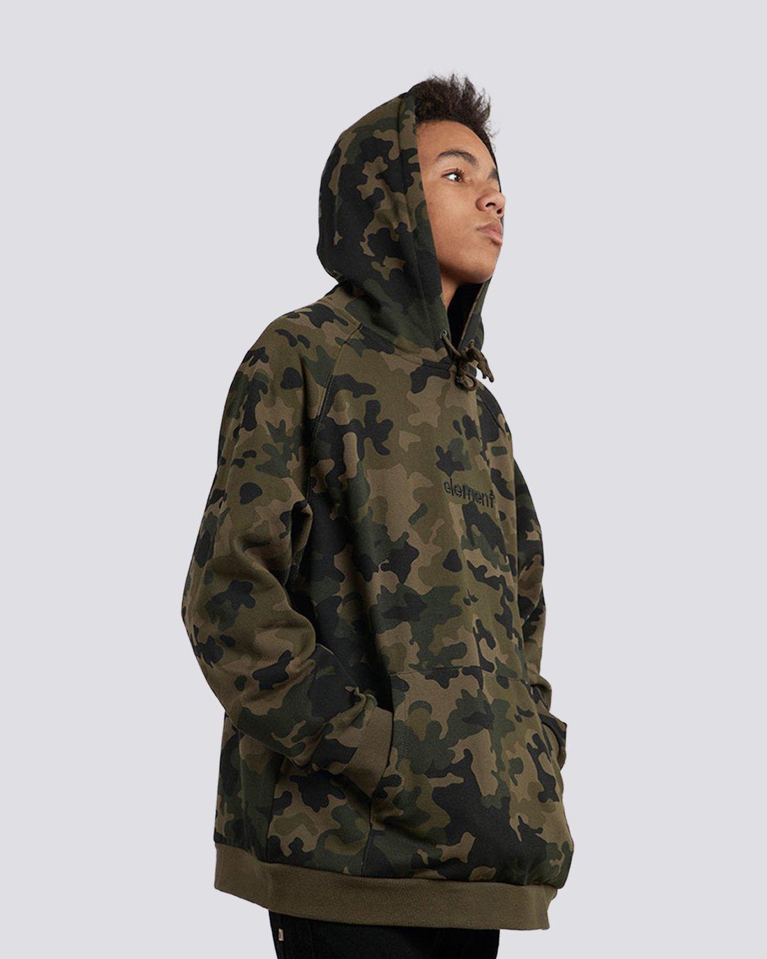 2 Big Hood Pullover Hoodie  M657QEBH Element