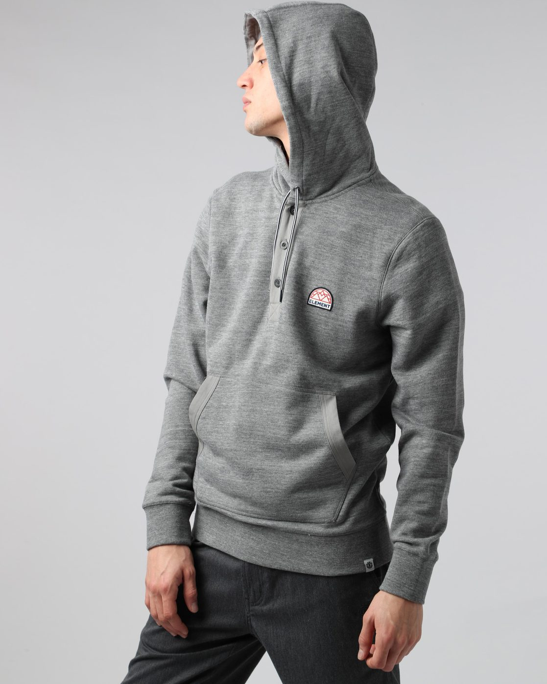 1 Highland Henley Grey M659QEHH Element
