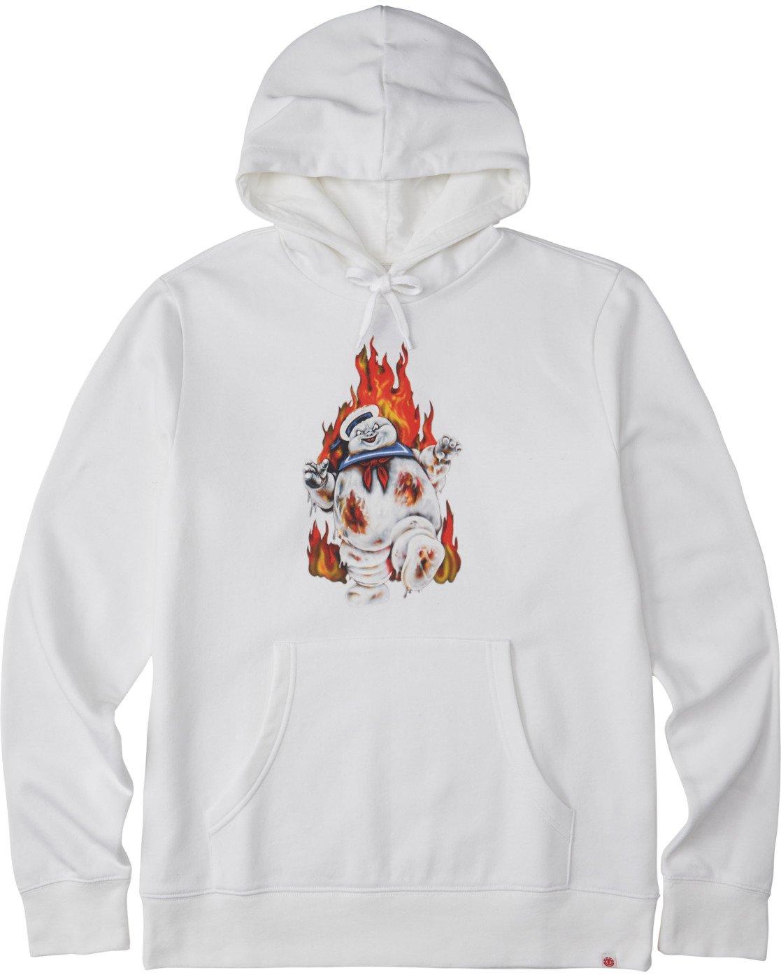 1 Inferno Hoodie White M6643EIN Element