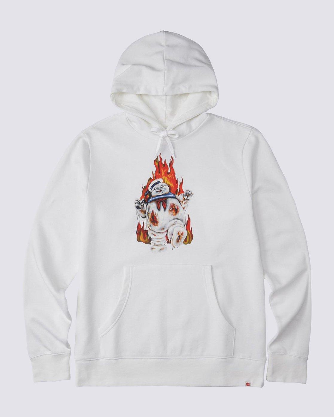 0 Inferno Hoodie White M6643EIN Element