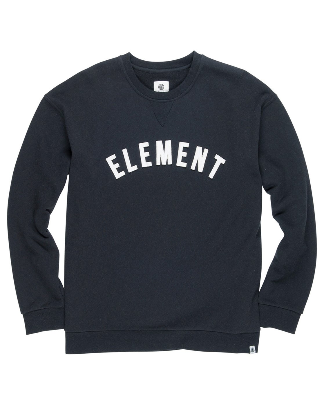1 Melting Crew Neck Fleece Black M665QEMC Element
