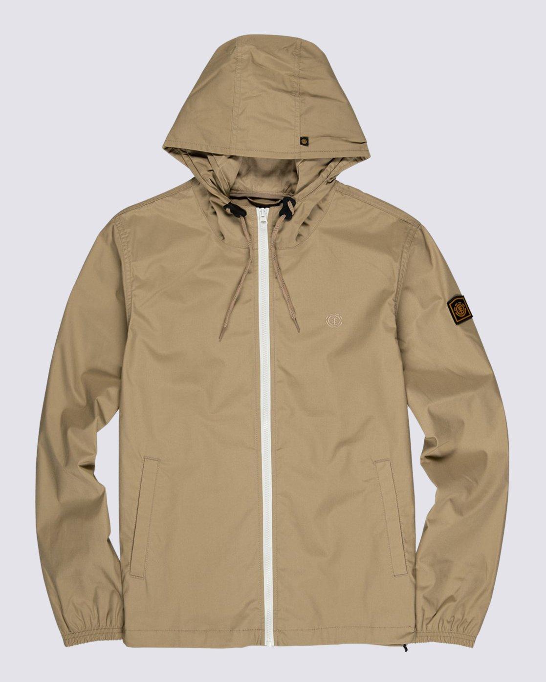 0 Alder Light Jacket Grey M7101EAL Element