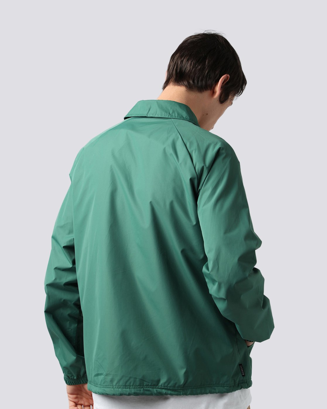 2 Yawye Coach Jacket Green M712NEYJ Element