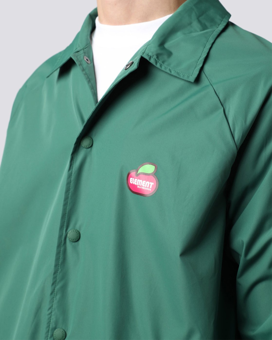 5 Yawye Coach Jacket Green M712NEYJ Element