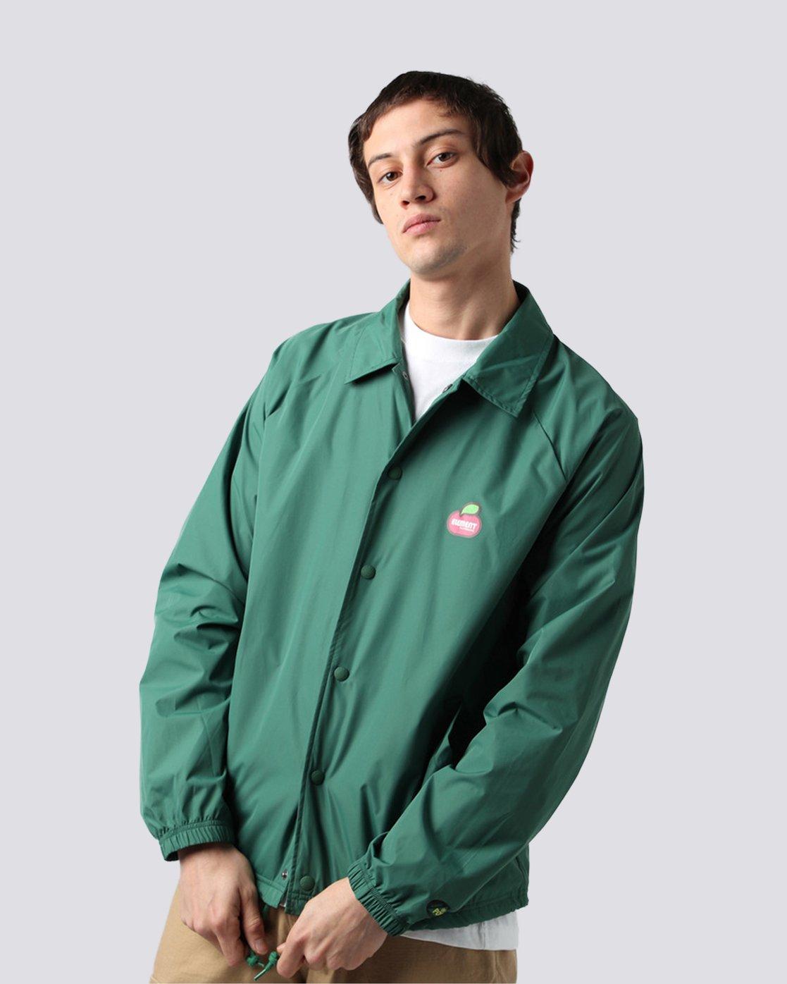 1 Yawye Coach Jacket Green M712NEYJ Element