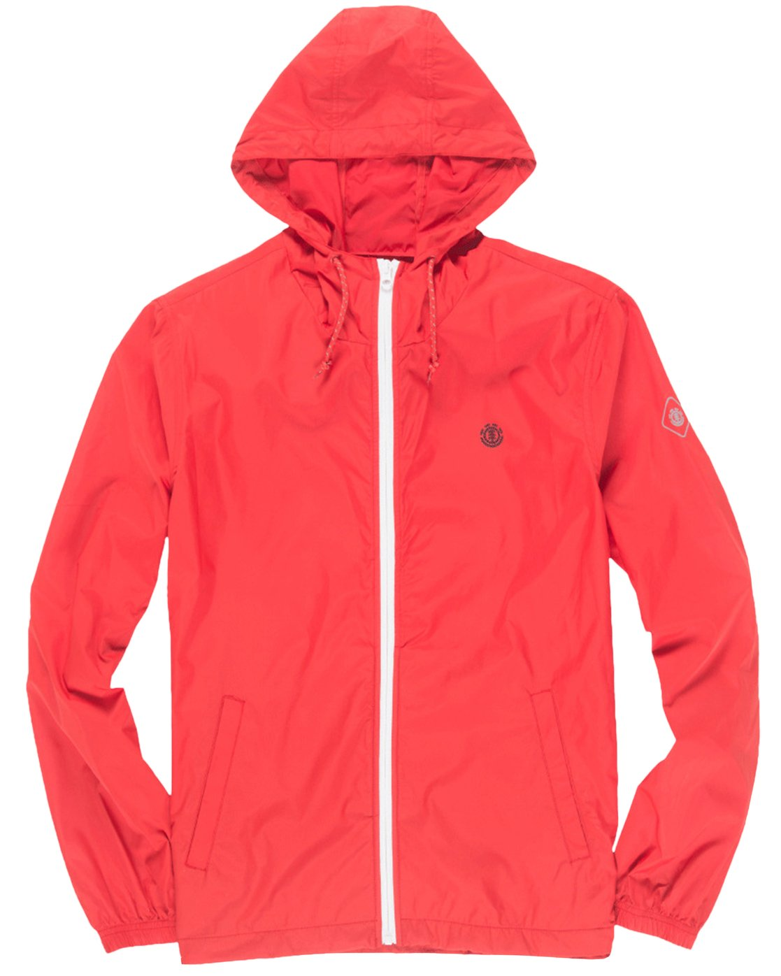 1 Alder Travel Well Jacket Red M722QEAT Element