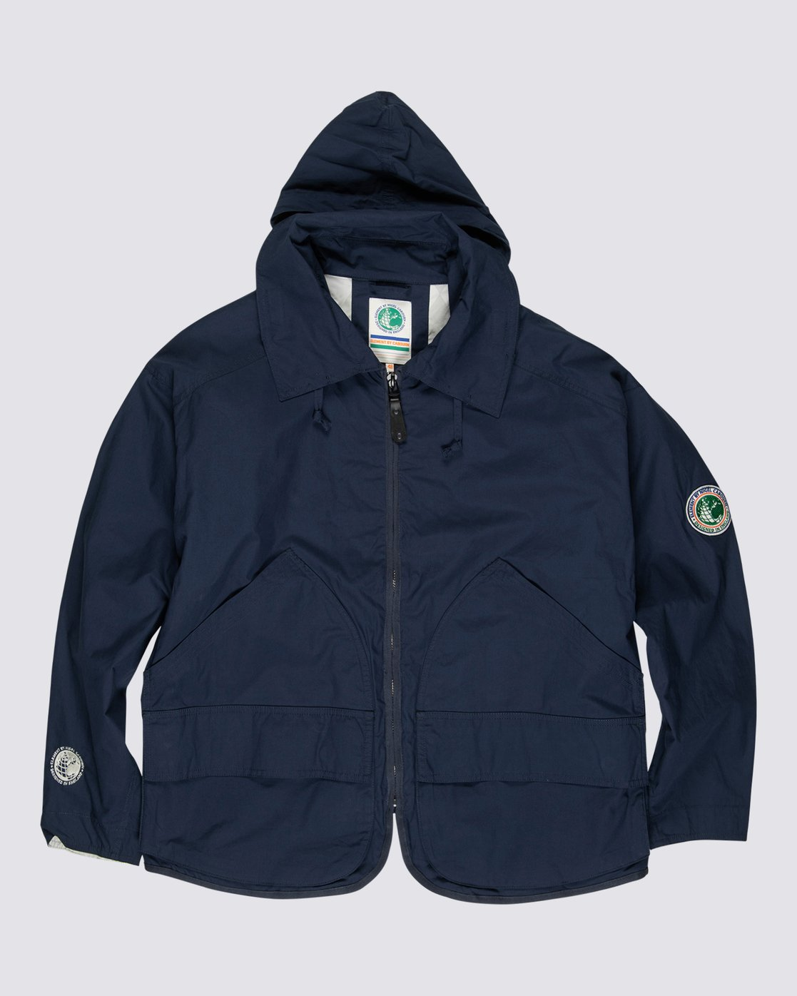1 Element by Nigel Cabourn Alder 4 Jacket Blue M7261EAU Element
