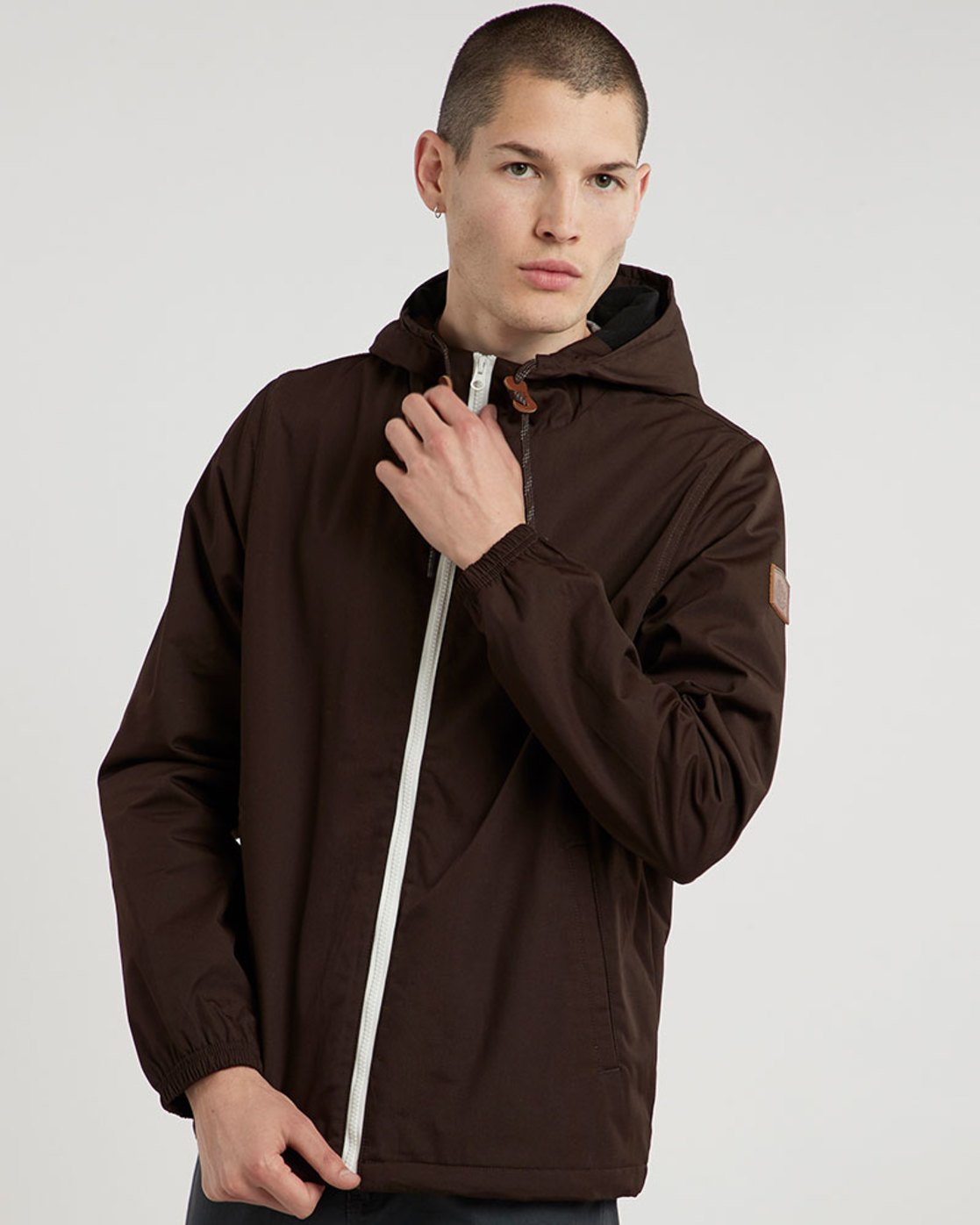 1 Alder Jacket Brown M726QEAL Element