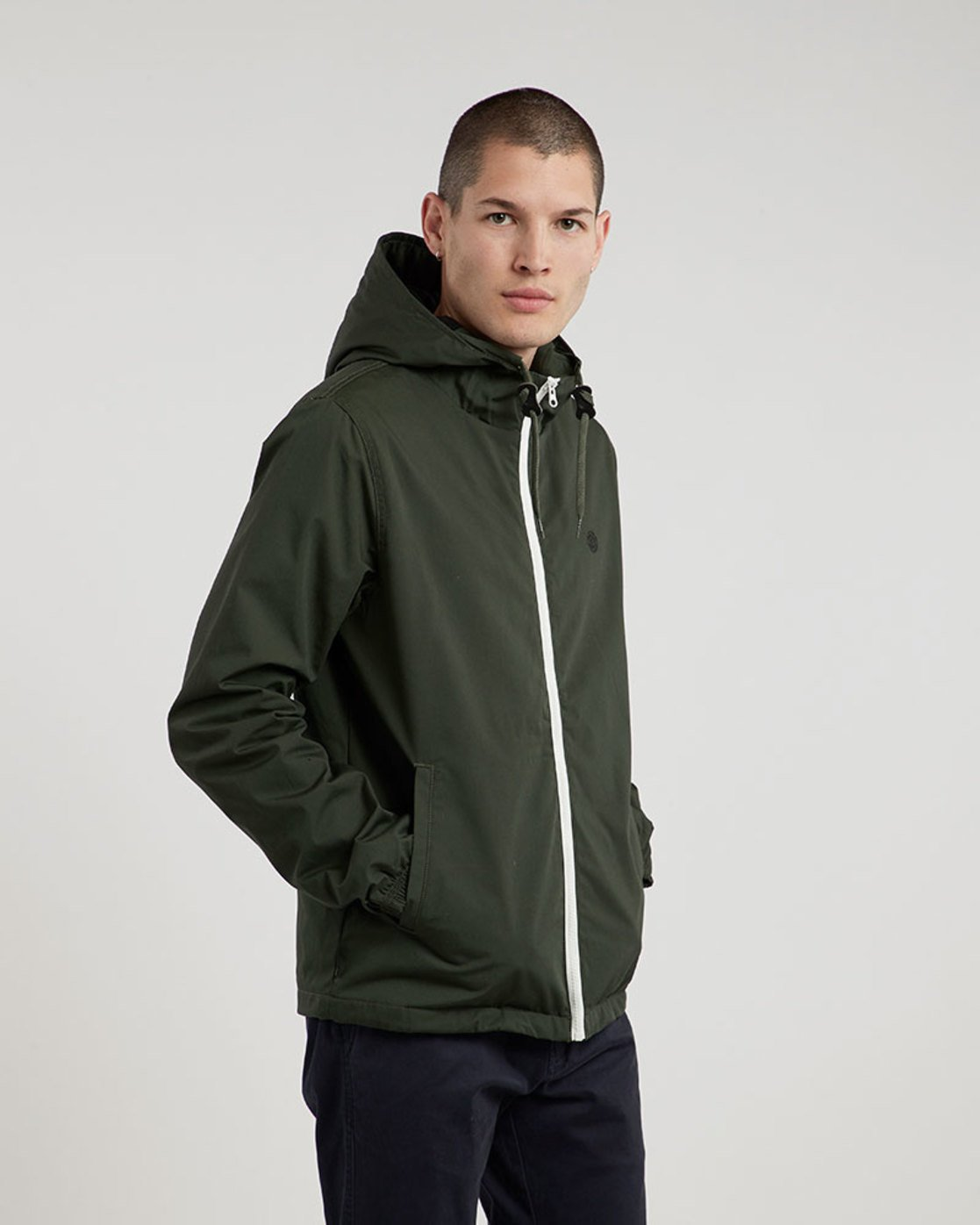 1 Alder Jacket Green M726QEAL Element