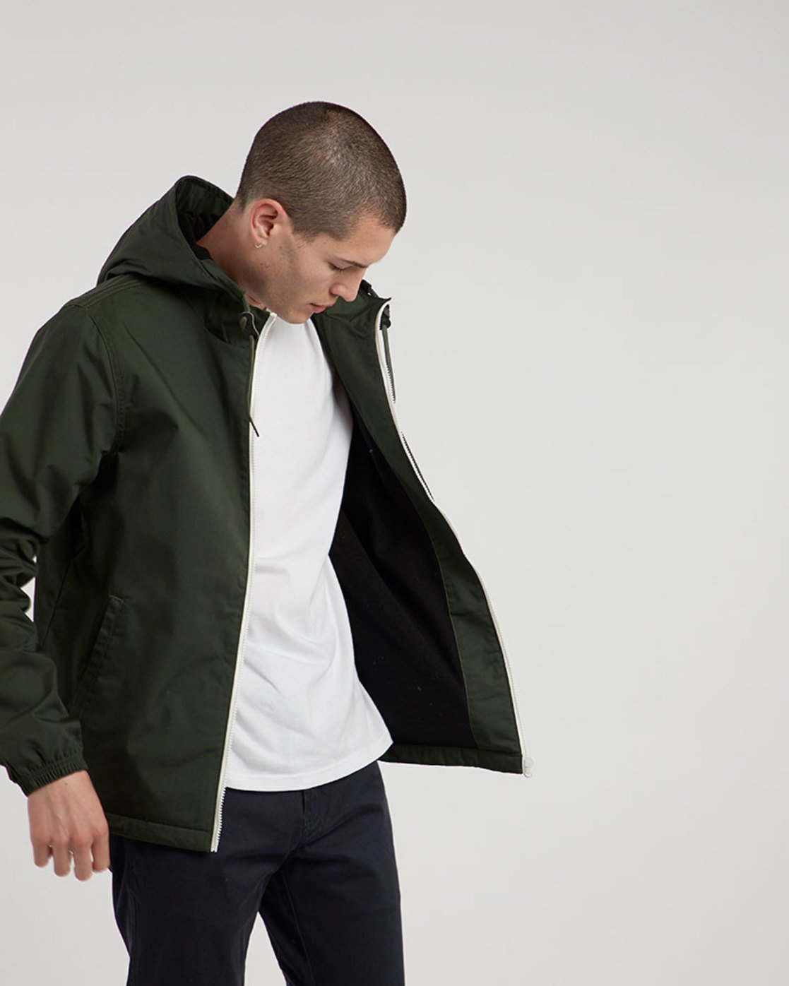 2 Alder Jacket Green M726QEAL Element