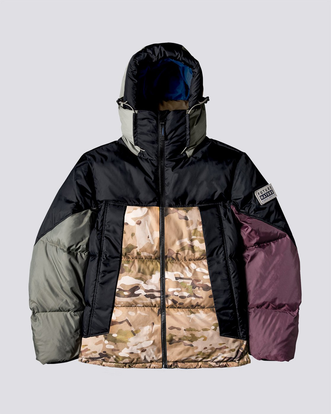 0 Griffin Base Camp Puffer Jacket Green M729VEGC Element
