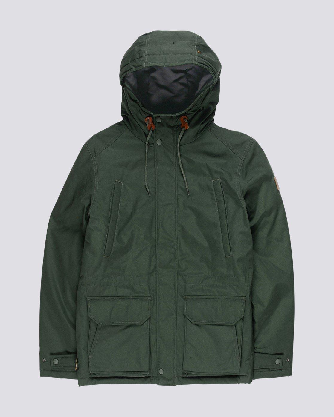 0 Valdez Jacket Green M733QEVA Element