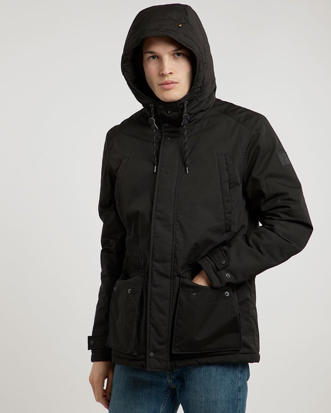 1 Valdez Jacket Black M733QEVA Element