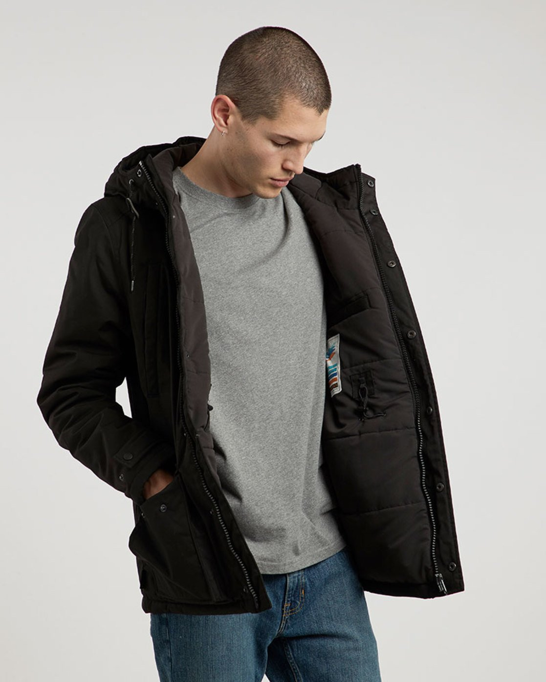 2 Valdez Jacket Black M733QEVA Element