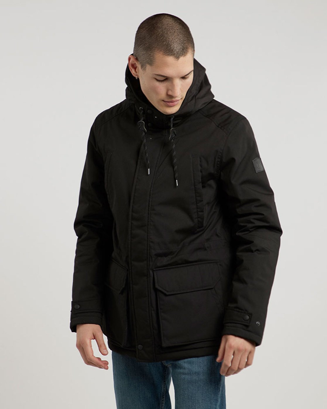 3 Valdez Jacket Black M733QEVA Element
