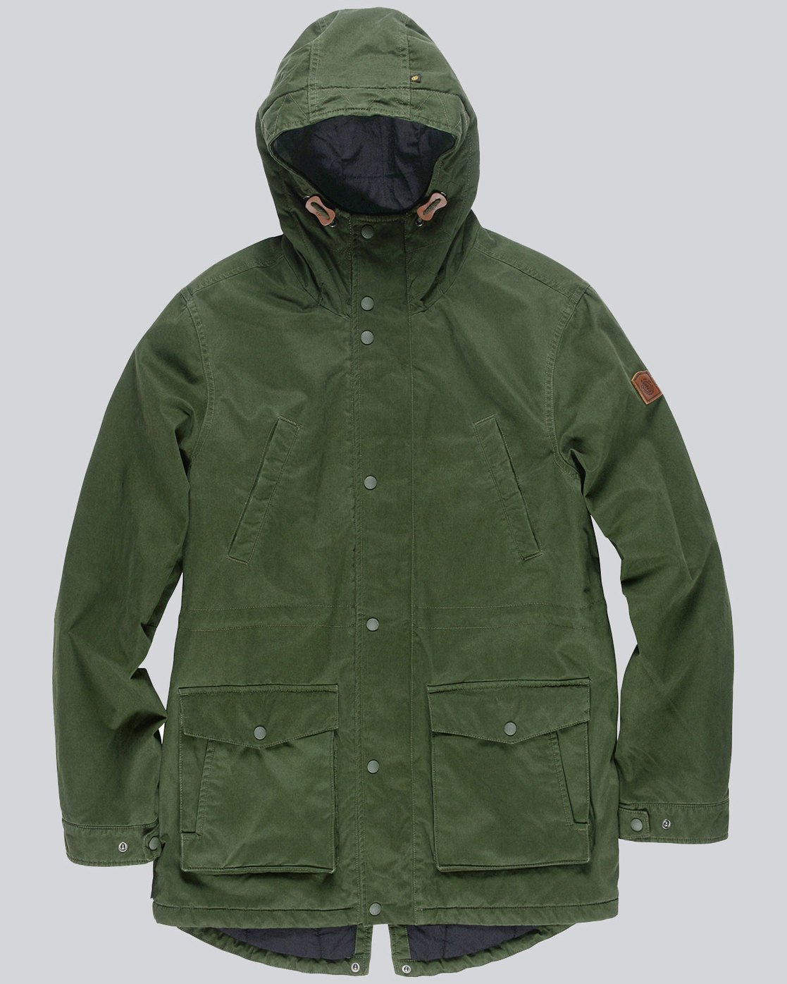 0 Cooper Jacket Green M735QERP Element