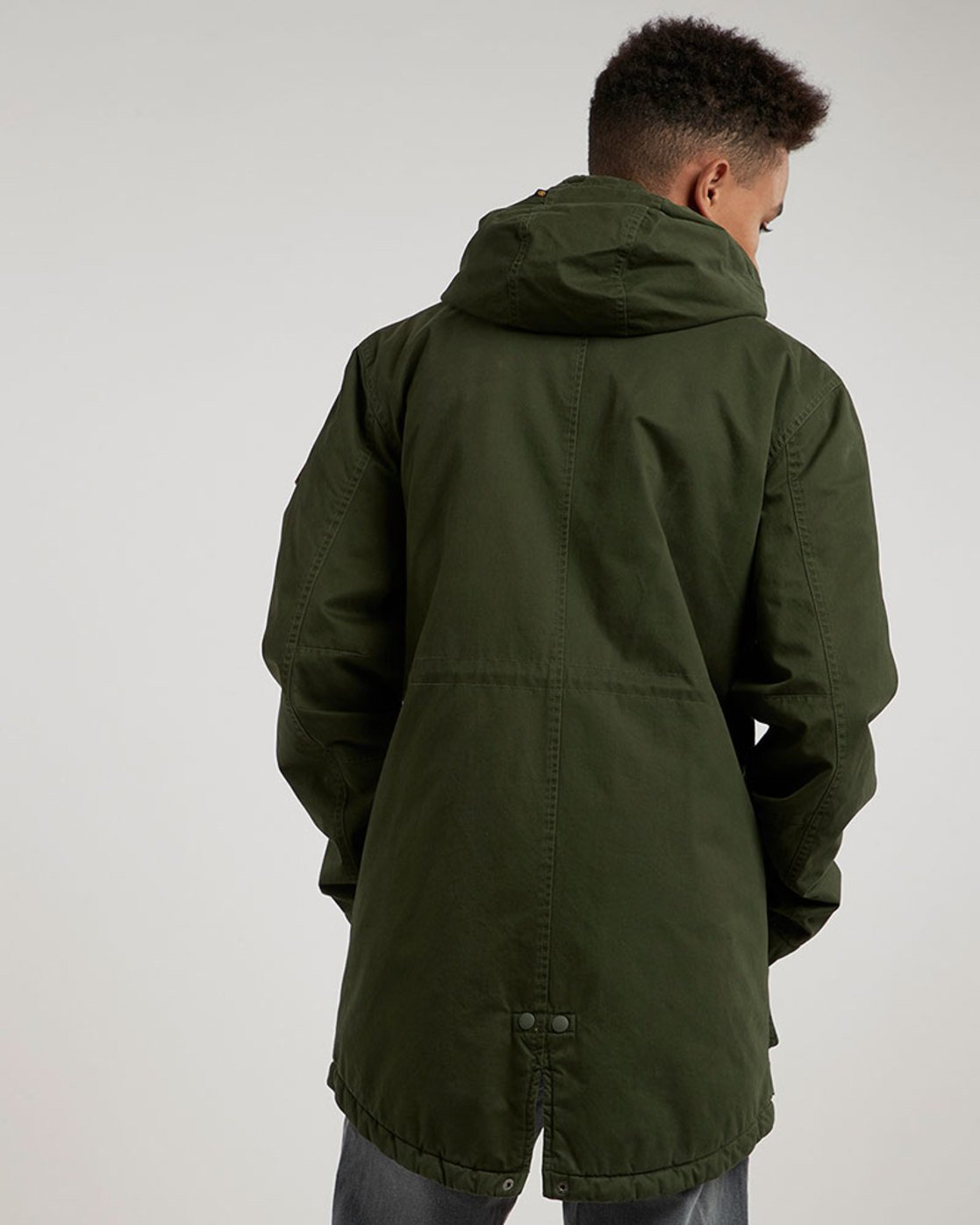 4 Cooper Jacket Green M735QERP Element