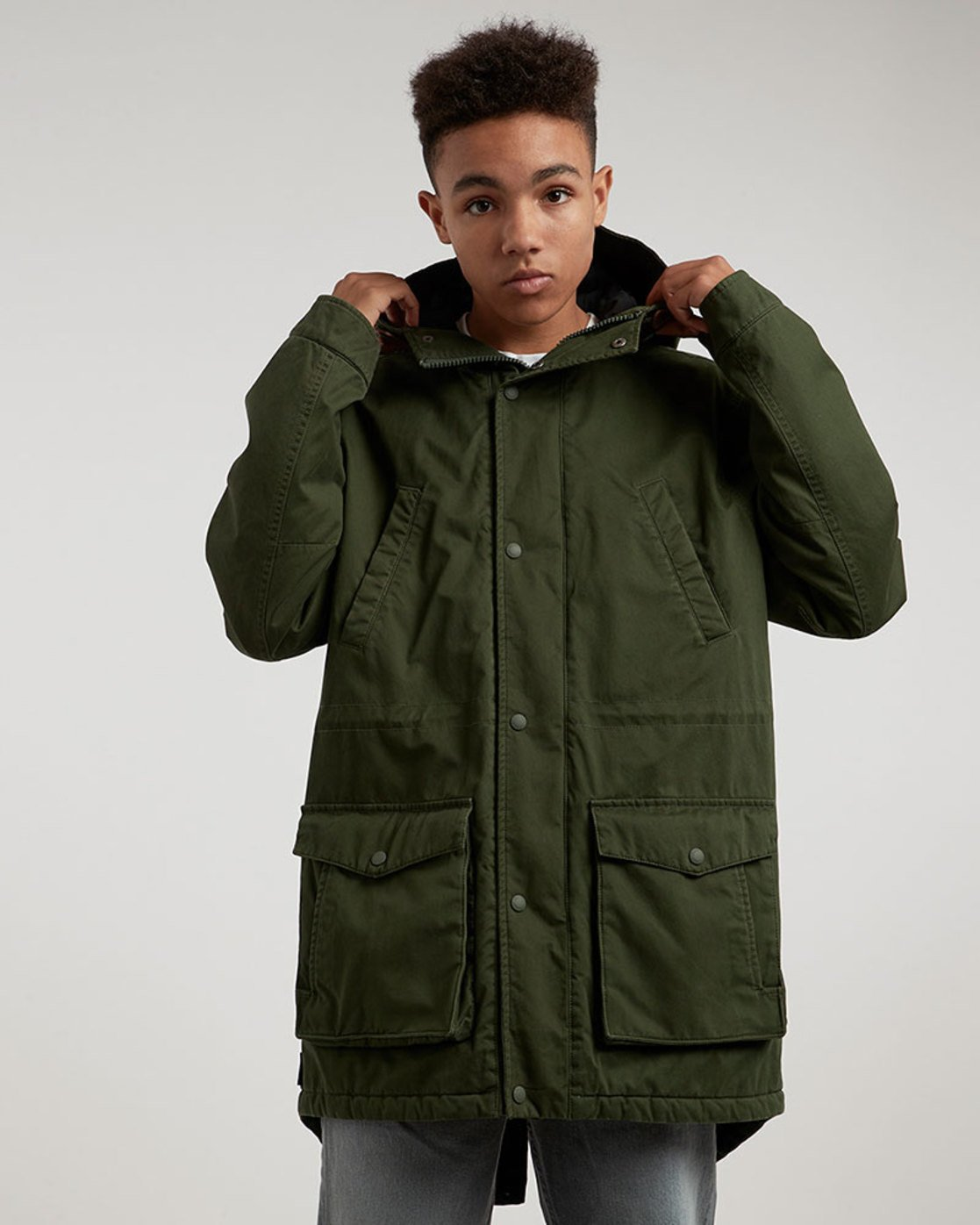 1 Cooper Jacket Green M735QERP Element