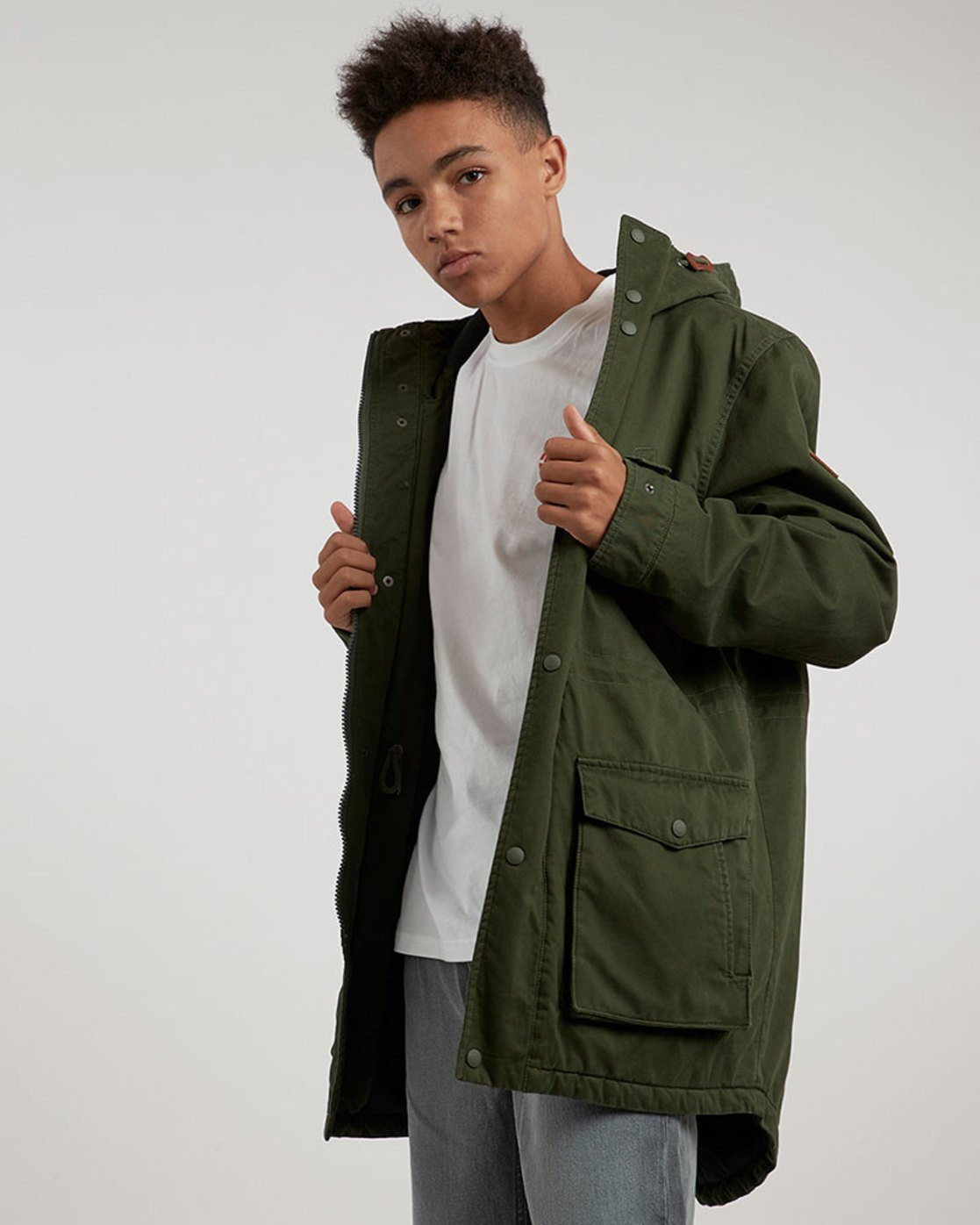 2 Cooper Jacket Green M735QERP Element