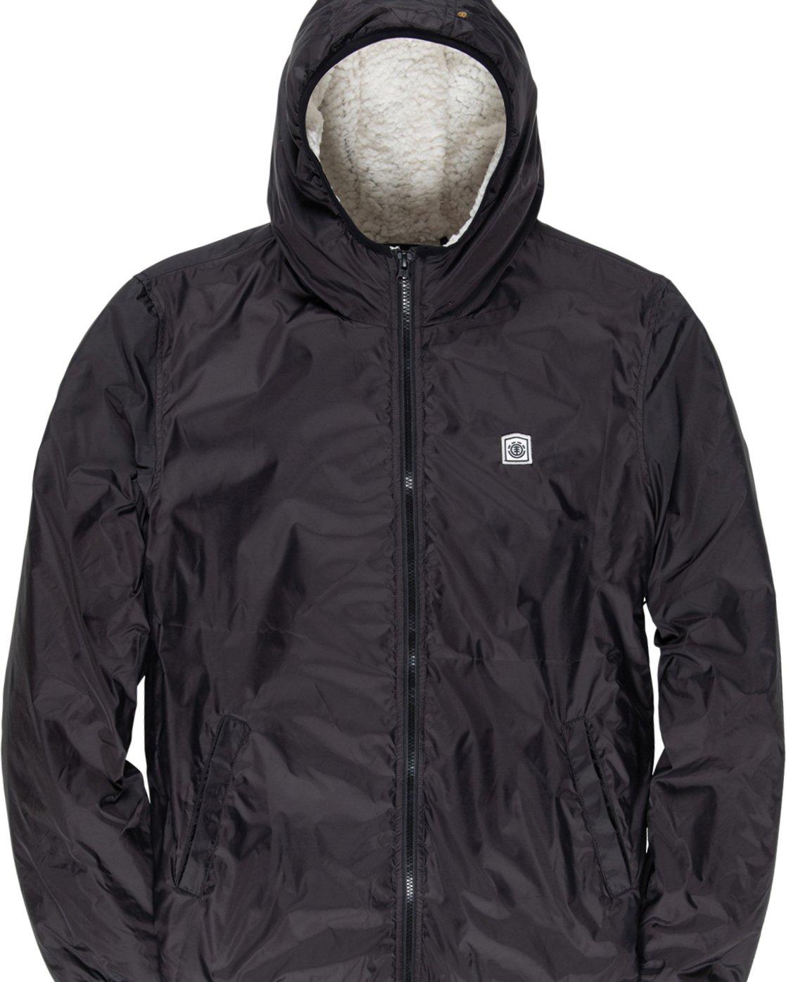 5 Elkins alder sherpa jacket Black M783VEEL Element