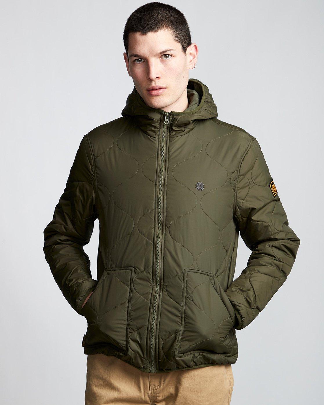 2 Davis 2 T-Shirt Jacket Green M789VEAL Element