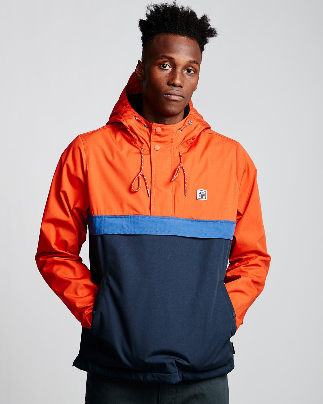 1 Barrow 3Tones Anorak Jacket Blue M790VEB3 Element