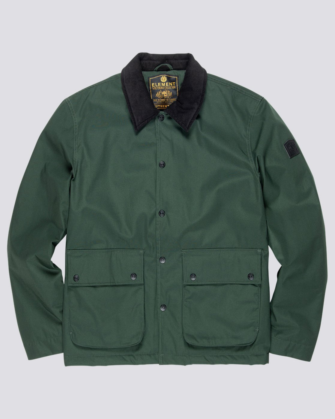0 Greenwood Jacket Green M790VEGR Element