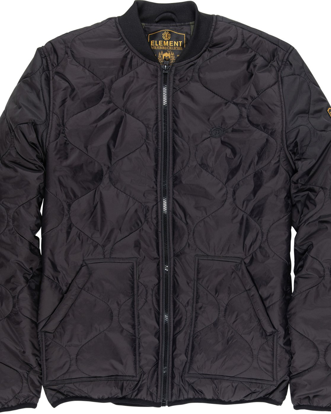 5 Northwoods Jacket Black M790VENW Element