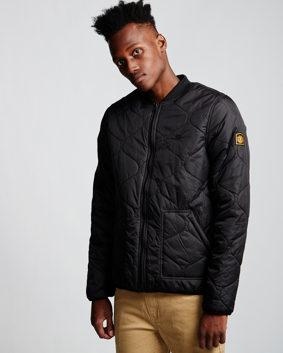 1 Northwoods Jacket Black M790VENW Element