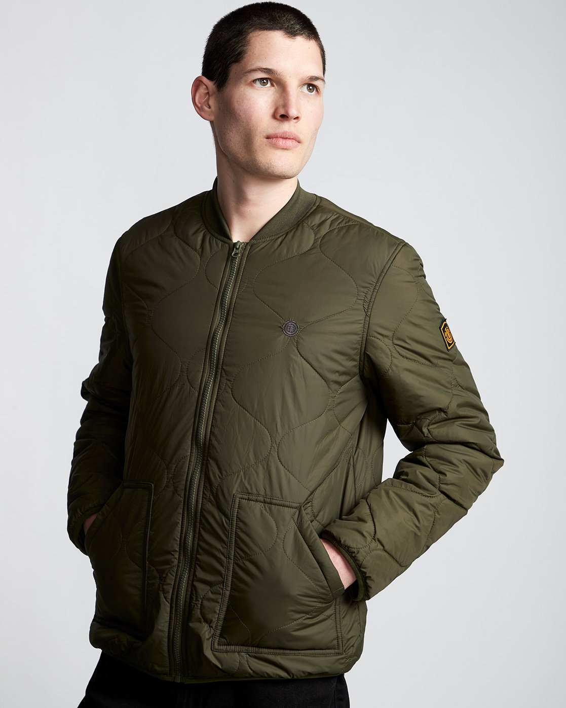 1 Northwoods Jacket Green M790VENW Element