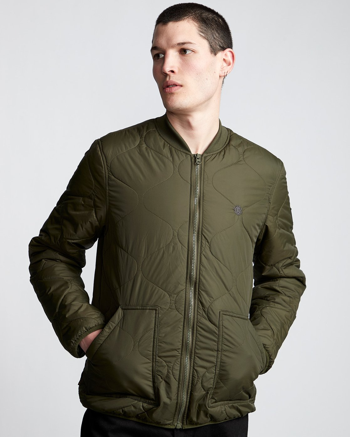 2 Northwoods Jacket Green M790VENW Element