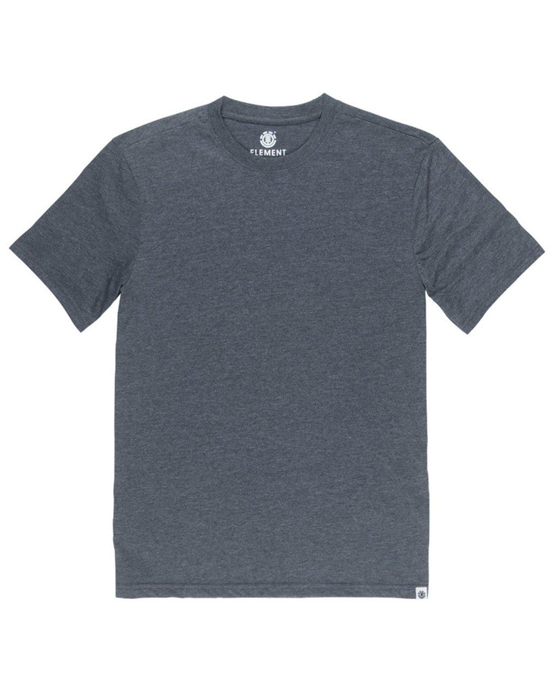 1 Basic Emby Crew T-Shirt Grey M918QEBS Element