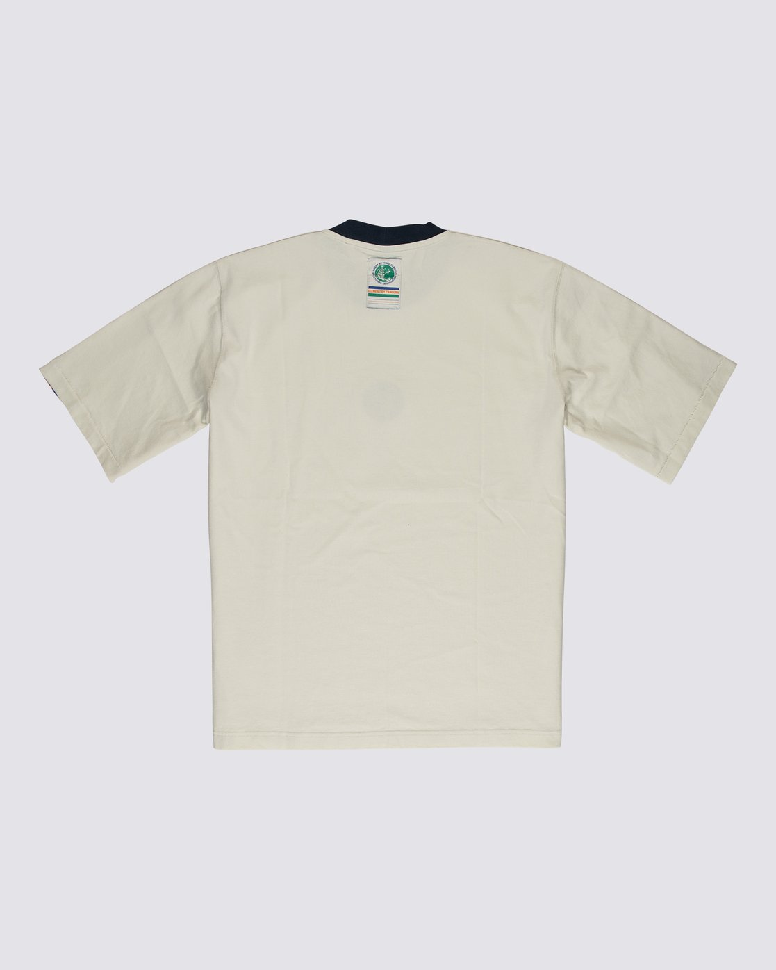 1 Element by Nigel Cabourn Big Sports Taped Crew Tee White M9301EBS Element
